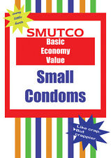 Smutco Small Pecker Condoms / Little Willy ~ Rude Greetings Card / Novelty Gift