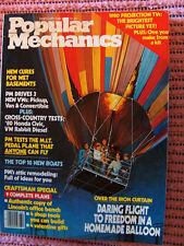 Popular Mechanics Feb. '80 cure wet basement, MIT pedal plane, attic remodel