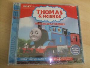 NEW Sealed BBC Audio Book CD Thomas Tank Engine THE RAILWAY STORIES M Angelis