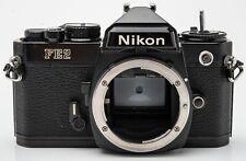 Nikon FE2 Body Gehäuse SLR Kamera analoge Spiegelreflexkamera schwarz black
