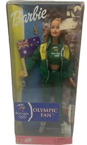 Barbie 25975 MIB 1999 Sydney 2000 Australia Olympic Fan Doll