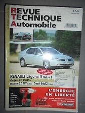 Renault LAGUNA 2 depuis 03/2005 : revue technique RTA 700