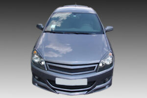 For OPEL/VAUXHALL ASTRA H 3D FRONT GRILLE ABS PLASTIC