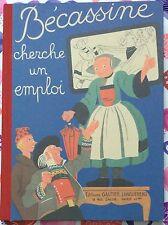Bécassine Cherche un Emploi by Caumery c1993 VGC Hardcover FRENCH