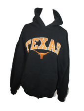 f2a47cddaf61b University of Texas Black Sweatshirt with Burnt Orange