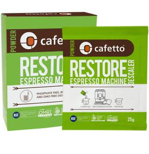 BREVILLE Restore Descaler Espresso Coffee Machine Eco Descaling Sachets Cafetto