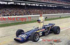 Mark Donohue Sunoco Simoniz Lola Offenhauser Indianapolis 500 1969 fotografía 1