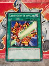 Carte YU GI OH DESTRUCTION DE BOUCLIER TU05-FR018 x 3