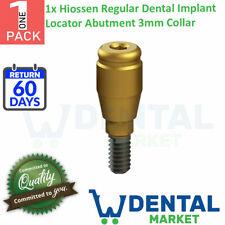 X 1 Hiossen Regular Dental Implant Locator Abutment 3mm Collar
