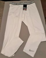 NIKE PRO COMBAT DRI-FIT HYPERWARM SERIES COMPETITION COMPRESSION PANTS NEW !!!