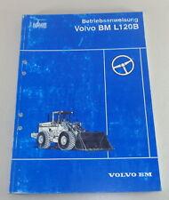 Instrucciones Servicio Volvo Bm / Euclid Pala de Ruedas L120B Stand 12/1991