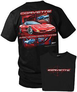 Wicked Metal Corvette shirt - Every Weapon - Corvette C5 shirt