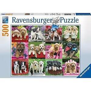 Ravensburger Puppy Pals Puzzle 500 Piece Jigsaw Puzzle