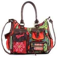 Desigual Bag Bols Lond Medium Seduccio Carr Shoulder Handbag Colorful