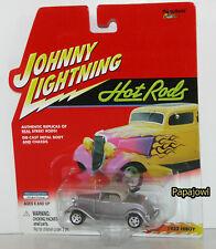 Johnny Lightning Hot Rods 1932 Ford Hiboy 32 Daily Street Cruiser 1:64 E
