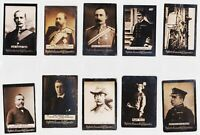 Ogden's Guinea Gold Cigarette Tobacco Card Lot of 10  #P1