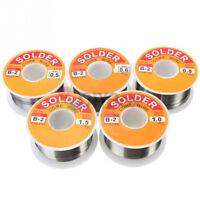 Fine Solder Wire 0.5-1.5mm 60/37 2% Flux Reel Tube Tin lead Rosin Core Soldering