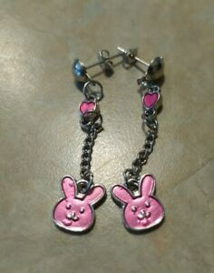 Ouran High School Host Club Mitsukuni Bunny Honey Usa-chan Earnings Jewelry