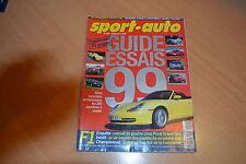 Sport Auto N°440 Guide des essais 1999.