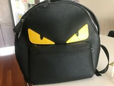 a4945a3694 Fendi Monster Backpack leather New