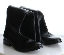 19-44 MSRP $378 Women's Size 10B Frye Melissa Stud Black Leather Zip Boots