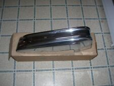 1973 Cadillac Deville NOS Front Bumper End (Left Hand) GM Part Number 3515590