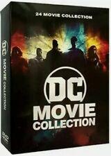 DC Movie Collection DVD - 24 Film Boxed Set (12-discs) Batman Superman WWOMAN