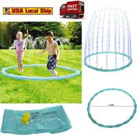 Outdoor Sprinkler Pad Toys for Kids & Baby Toddlers Sprinkler Splash Pool Water