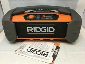 RIDGID R84087 Jobsite Radio Speaker Bluetooth Wireless Stereo, N