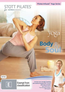 STOTT PILATES - BODY & SOUL : YOGA INFUSED SERIES BRAND NEW FREE POSTAGE
