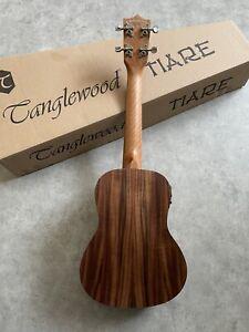 Concert Electro Acoustic ukulele  Superb £139 Spruce Top KOA Arched back