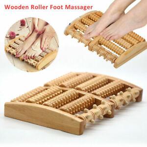 Fußmassageroller Massageroller Fußroller Holzroller Massagerät Fußrelex Wellness