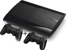 PlayStation 3 Konsole + 2 DualShocks 3 Wireless Controller + 3D Blu-Ray Player