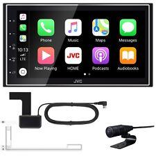 JVC KW-M745DBT 2-DIN Moniceiver CarPlay Android Auto Digitalradio inkl Antenne
