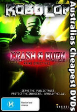 Robocop Crash & Burn Prime Directives DVD NEW, FREE POST WITHIN AUS REGION ALL