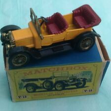 Matchbox Models of Yesteryear Y13 1911 Daimler