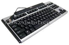 HP USB Mini Keyboard English Black-Silver 535873-001