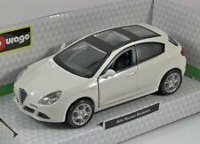 ALFA ROMEO GIULIETTA in White 1/32 scale model by Burago
