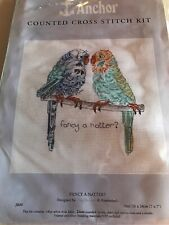 Counted Cross Stitch Kit Anchor Fancy A Natter