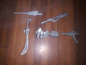 Power ranger accessories Lot
