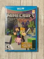 Minecraft: Wii U Edition (Nintendo Wii U, 2016) Brand New Factory Sealed