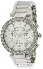 Michael Kors MK5353 Ladies Stainless Steel Stone Set Quartz Watch