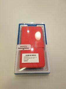 Pedea Book Cover Samsung S7  - rot
