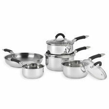 New Russell Hobbs Fusion Pan Set 5pc Stainless Steel