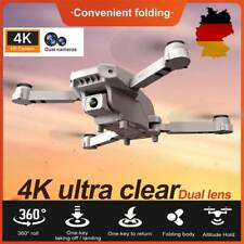 2.4G WIFI FPV Faltbar Drohne 4K HD Dual Kamera Mini Selfie Quadrocopter RC Drone