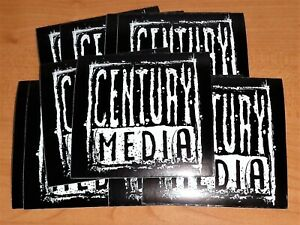 CENTURY MEDIA PROMOTIONAL STICKERS - LOT OF 10