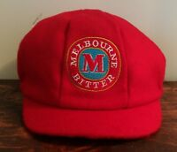 Melbourne Bitter Beer Baggy Cricket Cap - NEW - One size Fits All