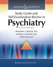 Kaplan and Sadock's Study Guide and Self-Examination Review in Psychiatry by Pe…