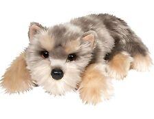"Douglas Graham YORKIE 13"" Lying Floppy Plush Dog Yorkshire Terrier Cuddle NEW"