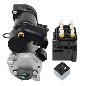 Air Suspension Compressor + Control Unit + Relay for Mercedes-Benz GL ML 320 350